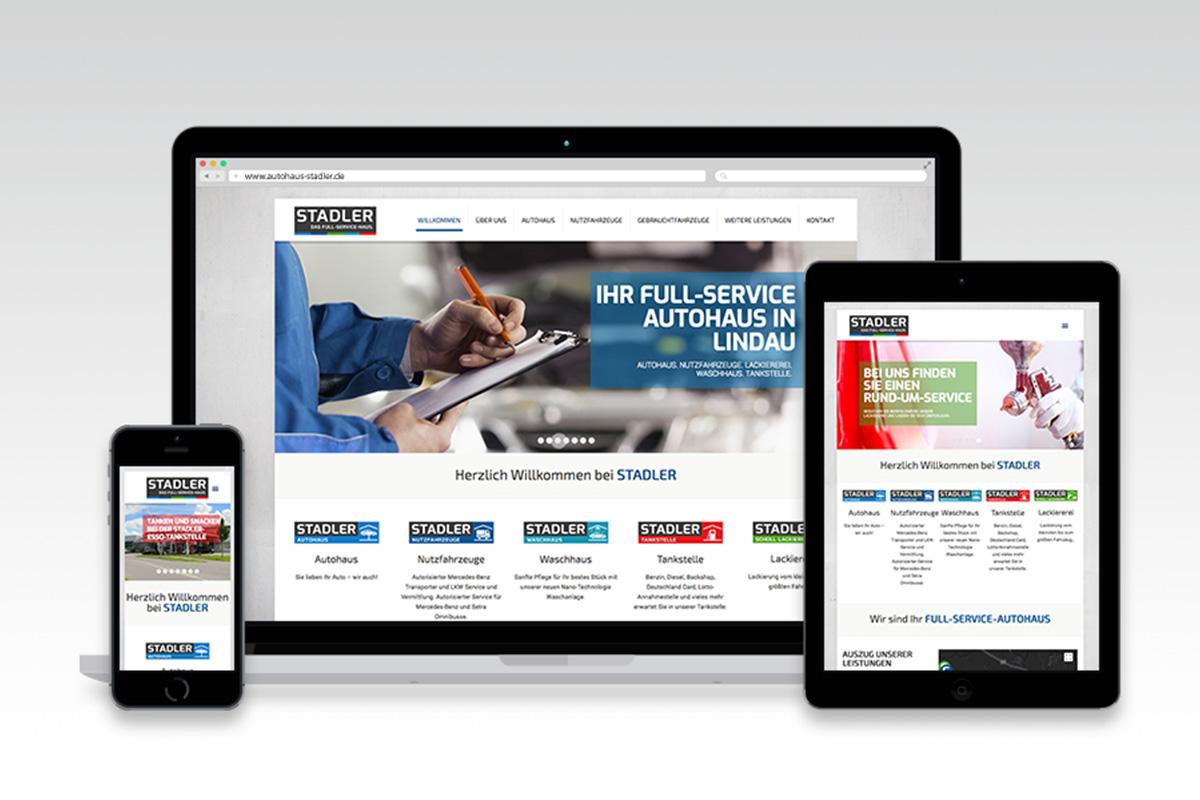 Webseite Stadler Autohaus