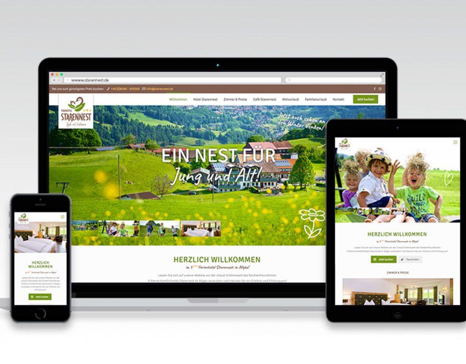 Webseite Starennest