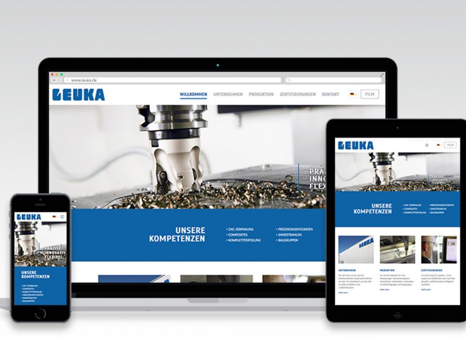 Webseite Leuka