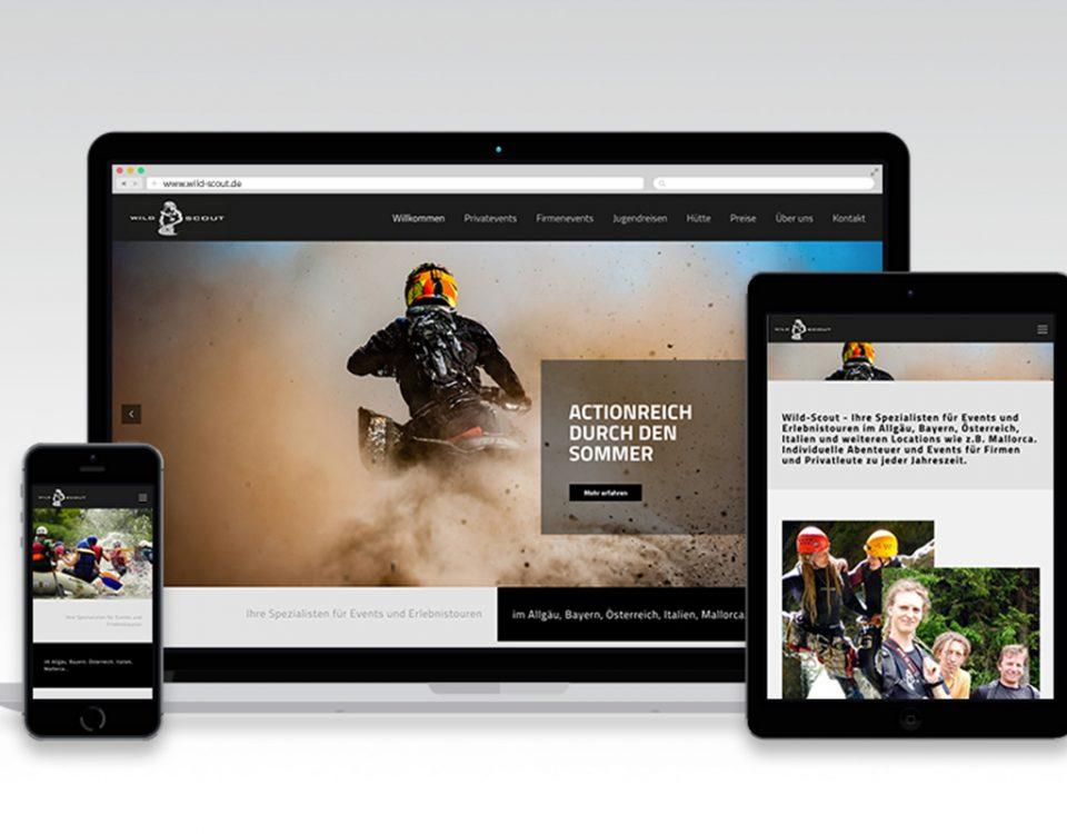 Webseite Wild Scout Oberstaufen
