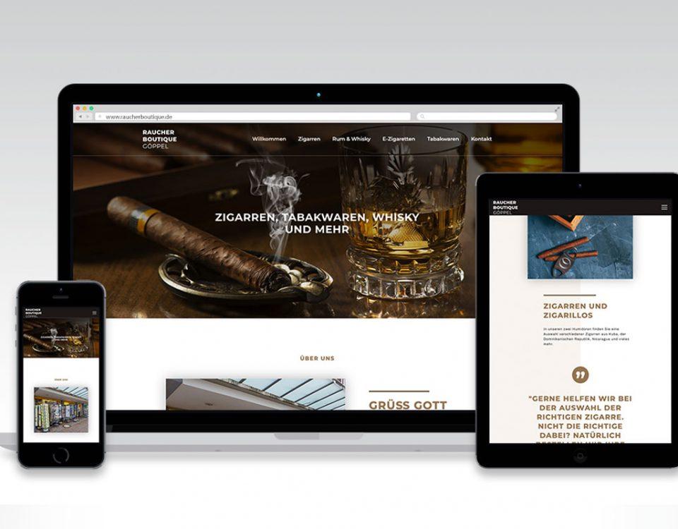 Webseite Raucherboutique Göppel