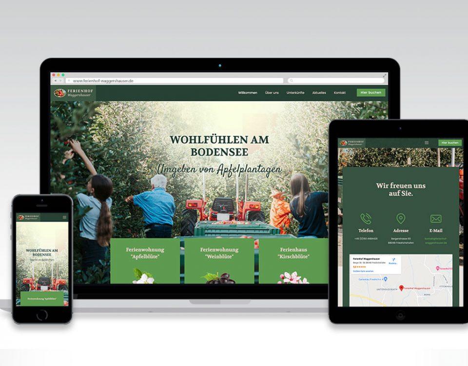 Webseite Ferienhof Waggershauser